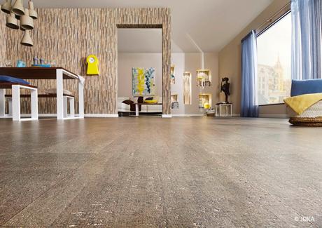 bodenbelge kork klick vinyl kork boden vinylboden designboden liefern verlegen in schermbeck. Black Bedroom Furniture Sets. Home Design Ideas